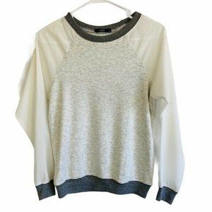 Tart Collection Color Block Sweatshirt Size XS